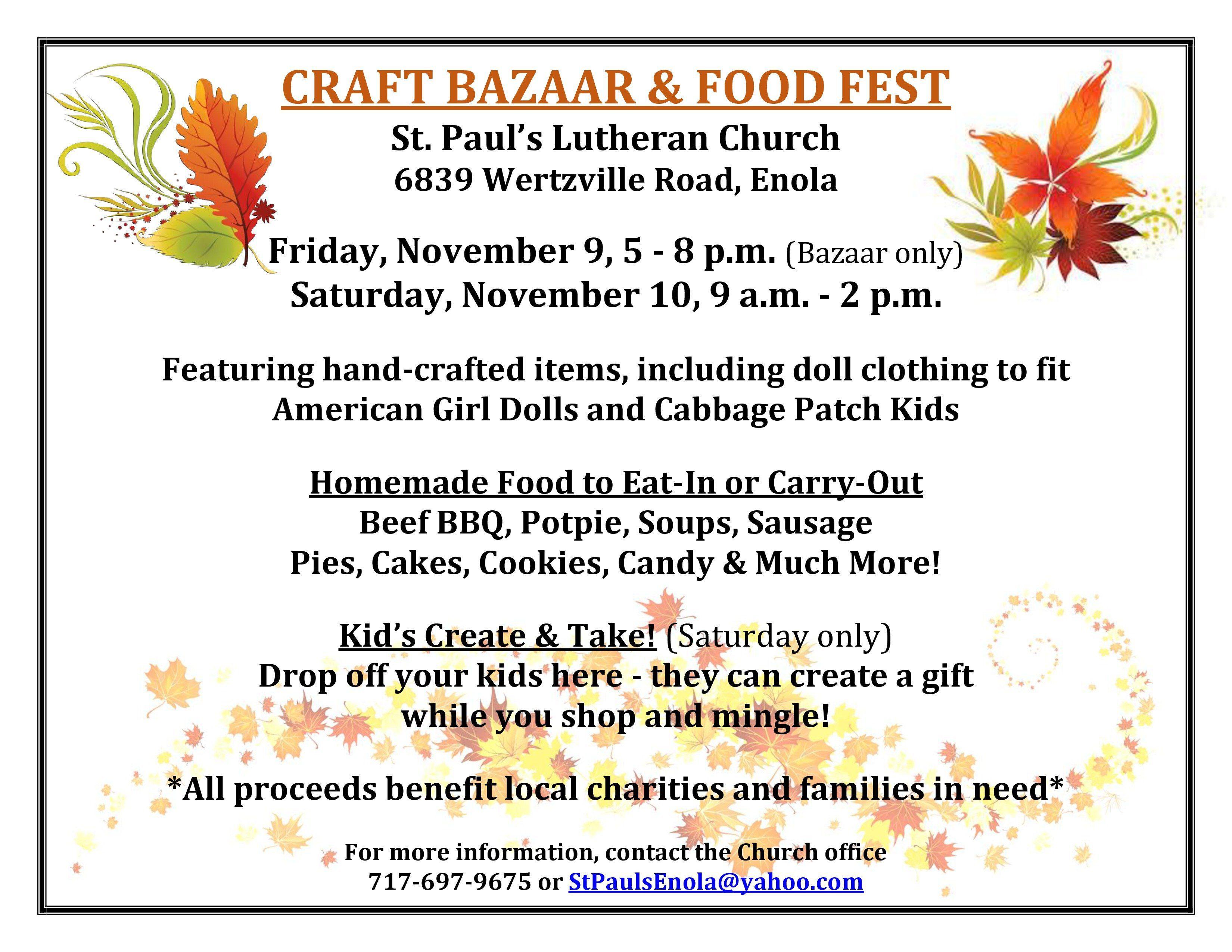BAZAAR & FOOD FEST