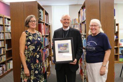 Bishop, Valerie Danzey and Norma Good Heifer Aug 2018