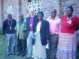 Bishop Dunlop visited the Konde Diocese in 2014.