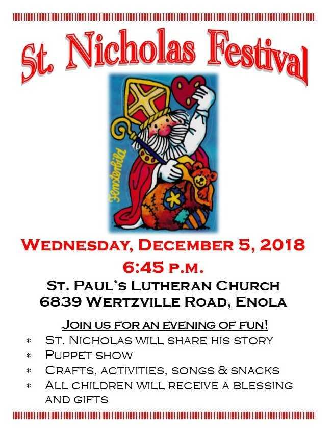 ST. NICHOLAS FESTIVAL