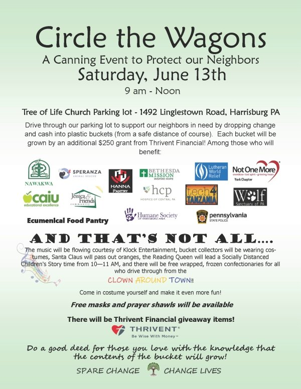 Circle the Wagons - A Canning Event to Protect our Neighbors