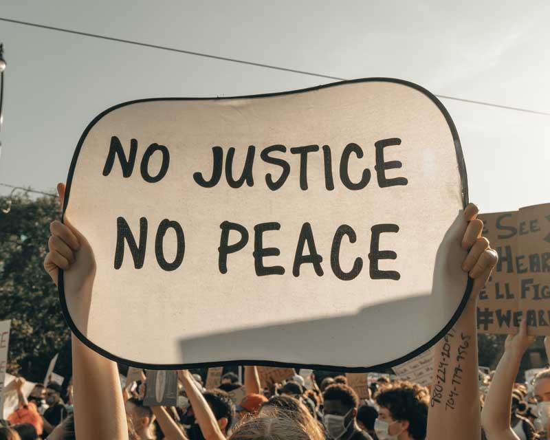 Week 2 Lenten Devotion No Justice No Peace