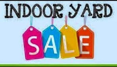 Indoor Yard  Sale and Homemade Soup  Sale