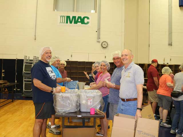 2018 Synod Assembly Food Packing Event